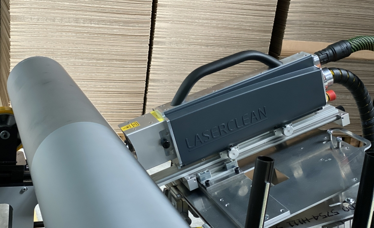 Mobile laser cleaning service