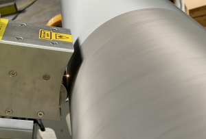 Laser cleaning of anilox rollers